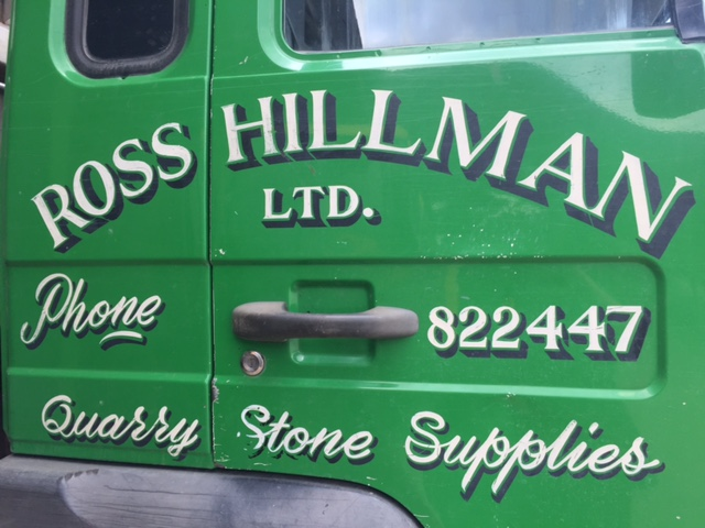 Ross Hillman Ltd - quarry stone haulage and builders merchants
