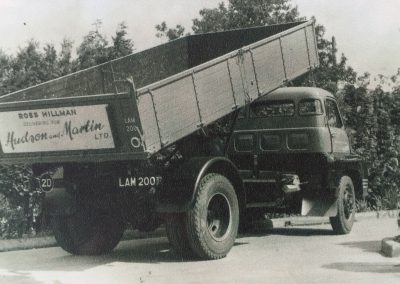 Ross Hillman early 1950s first lorry