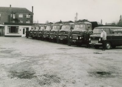 The Ross Hillman fleet and drivers early 1960s