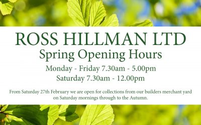 Spring Opening Hours 2021